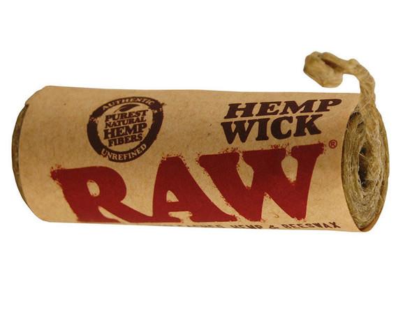 RAW Hemp Wick Large 6m