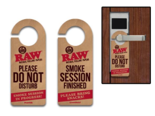 RAW Do Not Disturb Sign