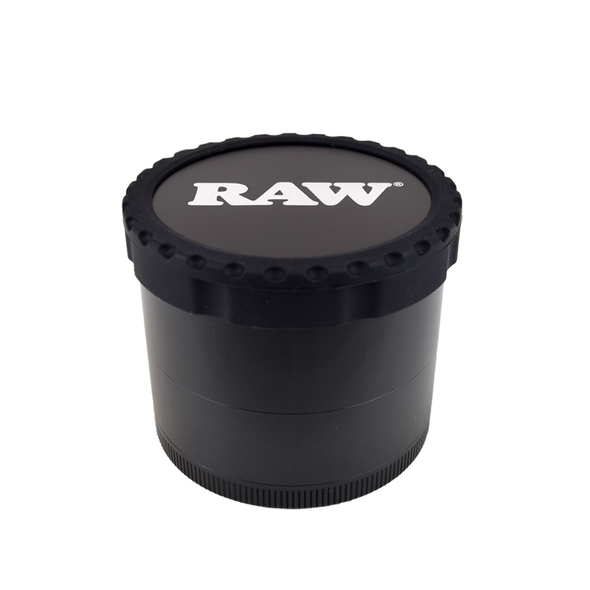 RAW Life 4 Piece Grinder Black Version III