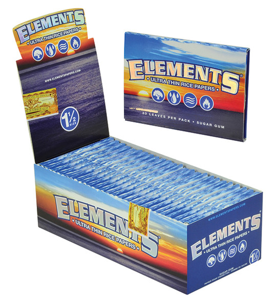 ELEMENTS 1-1/2 Rolling Papers