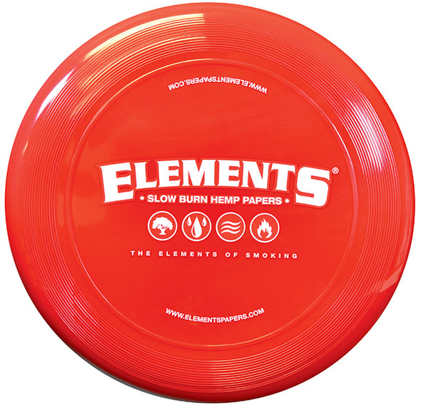 ELEMENTS Red Frisbee
