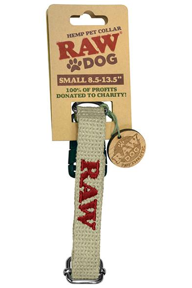 RAW Hemp Dog Pet Collar