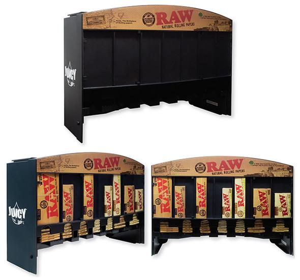 RAW Paper Display 7 Slots