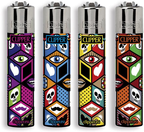 Clipper X Pattern 4 Lighter Set
