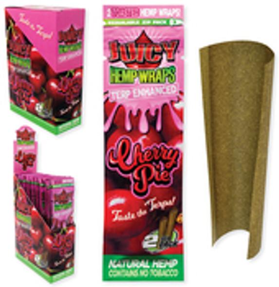 Juicy Jay's Hemp Wraps Cherry Pie