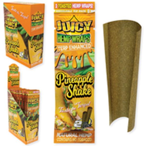 Juicy Jay's Hemp Wraps Pine Apple Shake