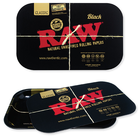 RAW BLACK Magnetic Tray Cover Small