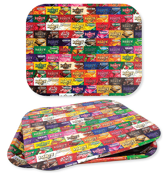 Juicy Jay's Large Rolling Tray & Cover Set