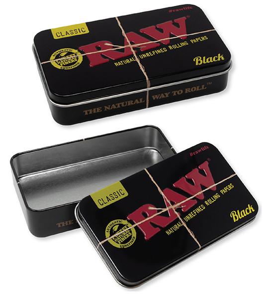 RAW Black Tin Box