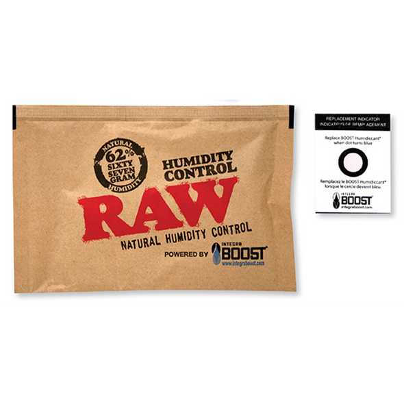 RAW X Integra Boost 67g 62% Humidity Pack
