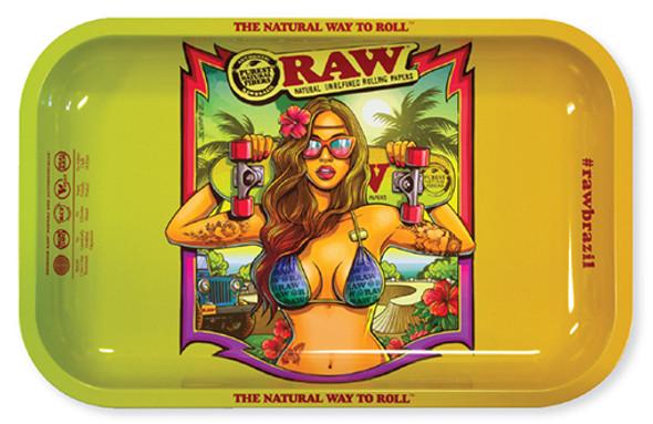 RAW Brazil 2 Rolling Tray Small