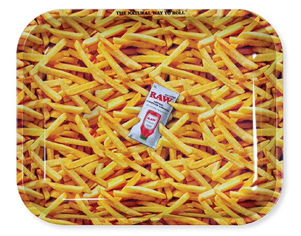 RAW French Fries Large Rolling Tray