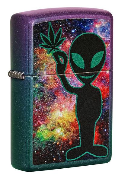Zippo Alien Design
