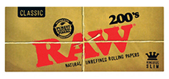 RAW 200 King Size Slim