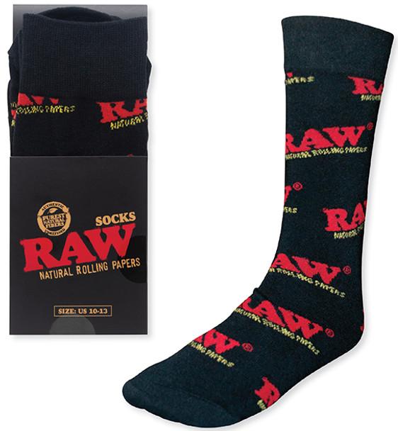 RAW Black Socks