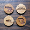 Add an engraving to the back of your pendant!