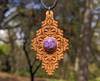 Maple with 12mm Charoite