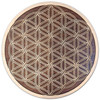 Flower of Life Knotwork Two Layer Wall Art