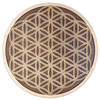 Flower of Life Knotwork Three Layer Wall Art