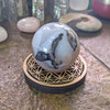 Shown with Agate sphere