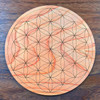 Flower of Life Crystal Grid - Birch Plywood - Choose your size!