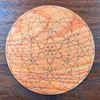 Heart Chakra Crystal Grid - Birch Plywood - Choose your size!