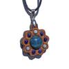 Mini Gemstone Cluster Talisman with Apatite, Lapis Lazuli and Larimar