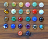12mm Gemstones in shade