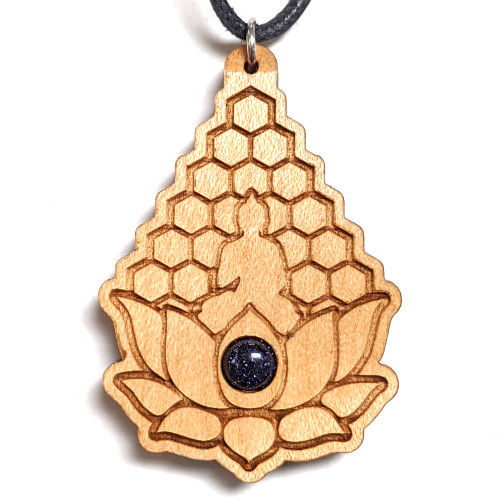 Maple with Blue Goldstone