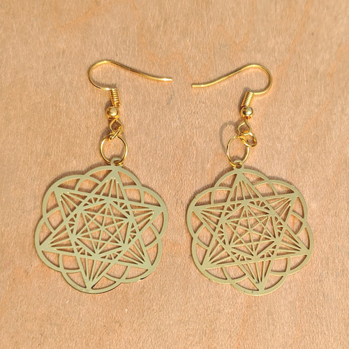 Starseed Earrings - 18 karat Gold Plated