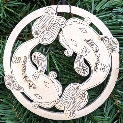 Abundant Koi Ornament by Julie Banwellund