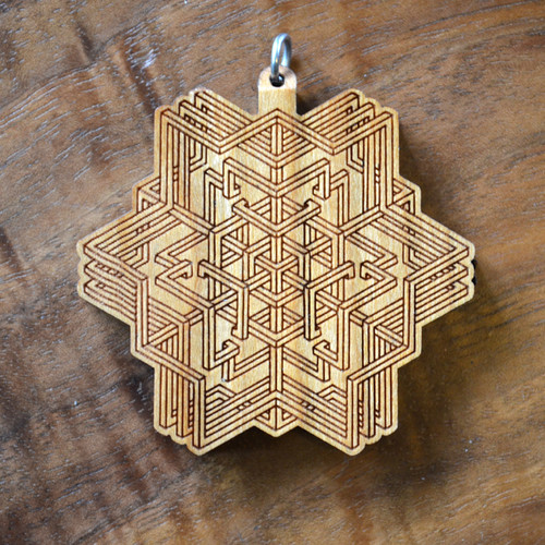 Inner Self Hardwood Pendant