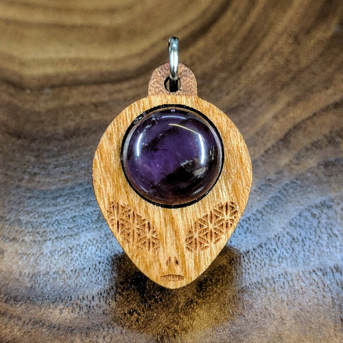 Cherry with Amethyst