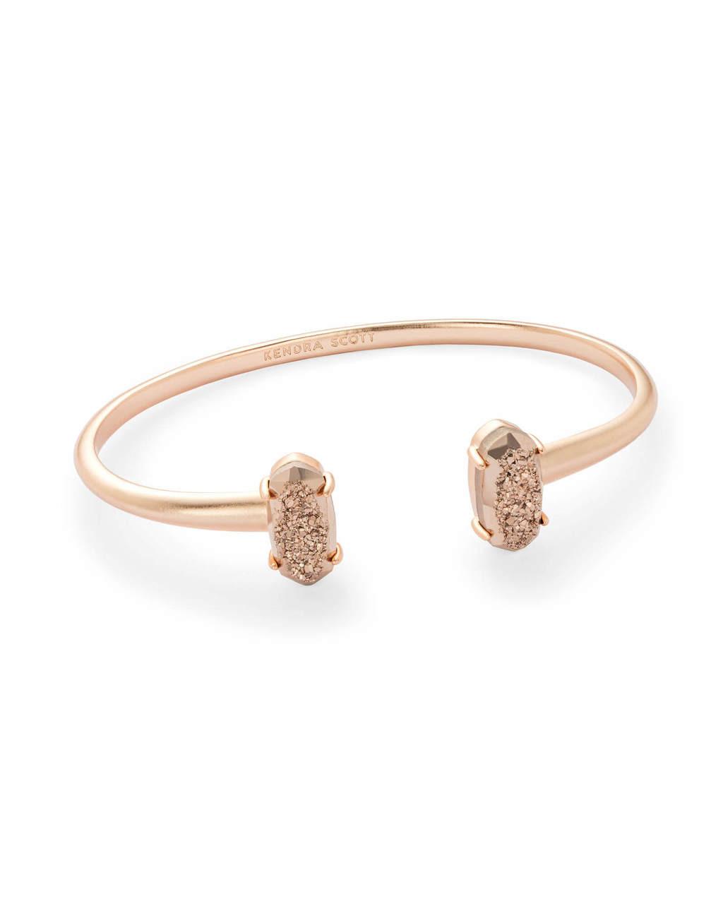 6ea682f44ec Edie Bracelet Rose Gold Drusy - Thompson's
