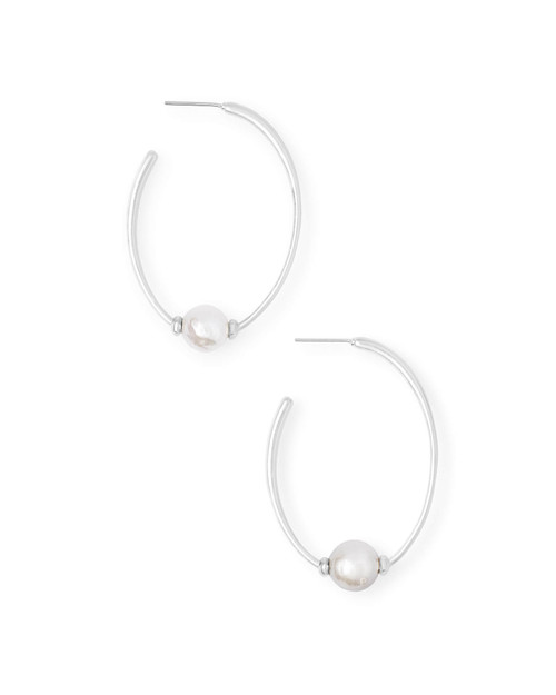 Regina Earring Silver Barboque Pearl