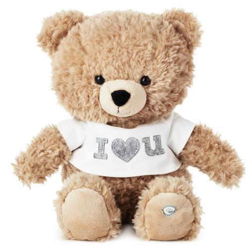 Plush I  Love You Singing Bear