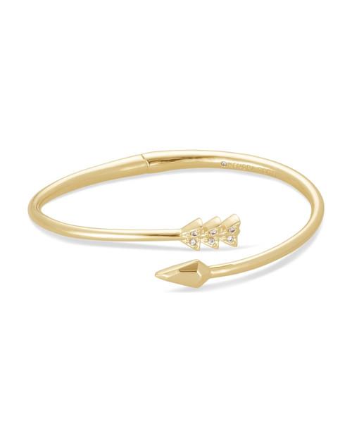 Zoey Gold Bangle Bracelet