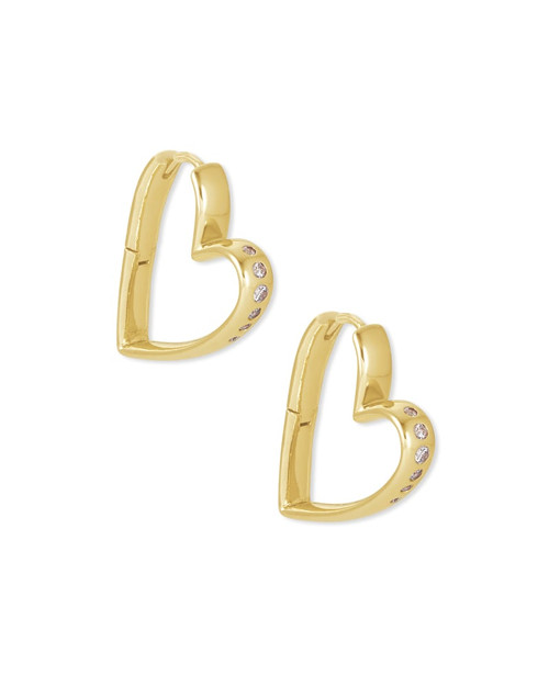 Ansley Small Hoop Gold Earring