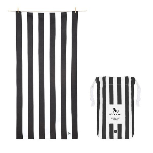 Charcoal Extra Large Beach Towel