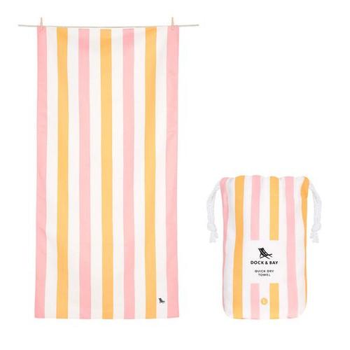 Peach Sorbet Extra Large Beach Towel