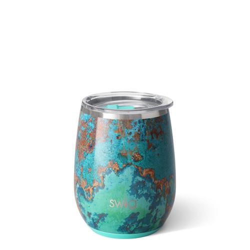 Copper Patina 14 oz wine cup