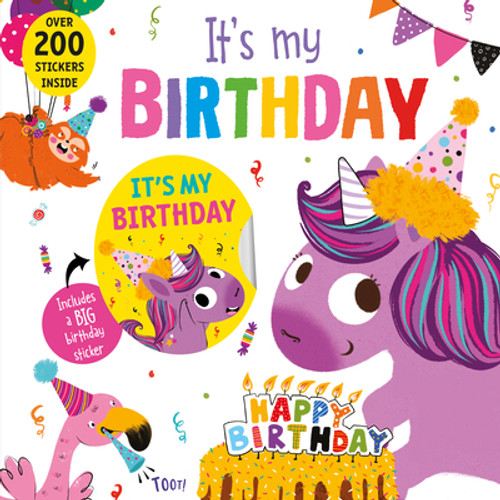 It's My Birthday Unicorn Book