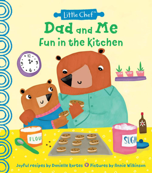 Dad & Me Cooking Together Book
