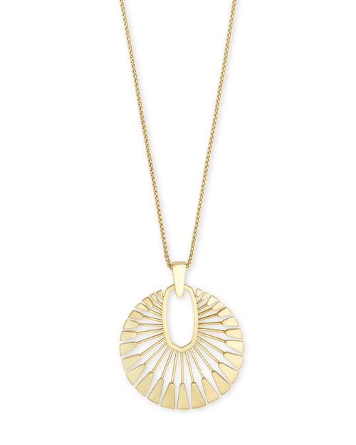 Deanne Long Pendant Gold