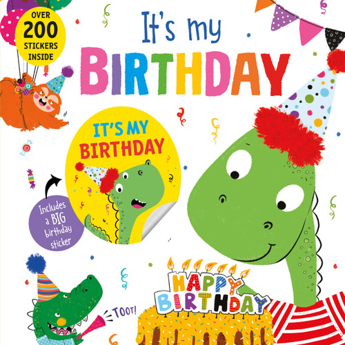 It's My Birthday Dinosaur Book