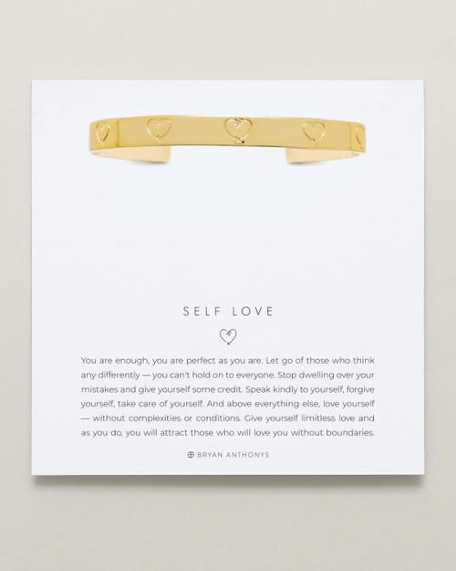 Self Love Cuff 14K Gold