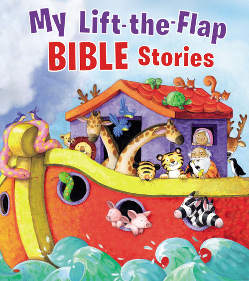 Lift the Flap Bible Stories Book