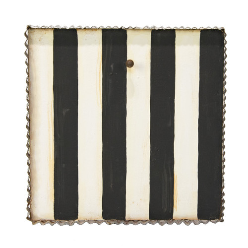 Black & White Stripe Display Board