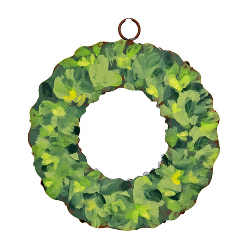 Boxwood Wreath With Grommet