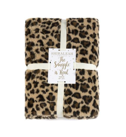 Leopard Jill Throw